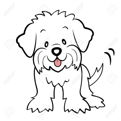 coloring pages of maltese puppies bichon dibujando bichones pinterest search