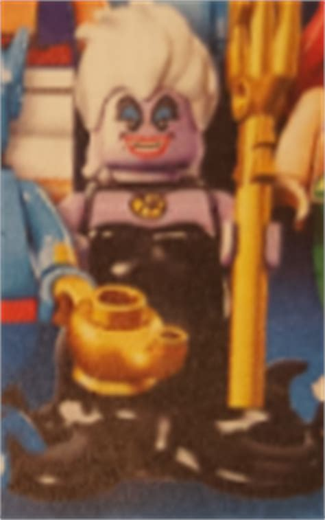 Lego Minifigures Series Disney 71012 Ursula lego disney collectible minifigure series 71012 official photo reveal minifigure price guide