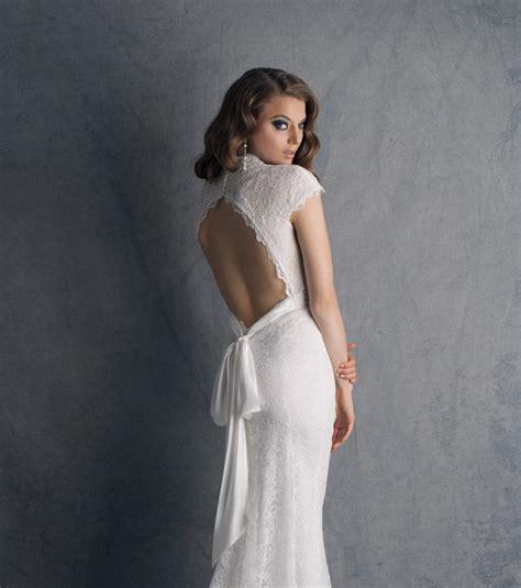 Robe De Mariée Simple Dentelle Dos - robe de mari 233 e dentelle dos nu vintage boh 232 me les