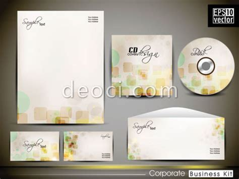 Card Cd Template by Free The The Vector Lattice Abstract Vis Design Templates