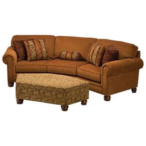 justice furniture 707 large curved conversation sofa with