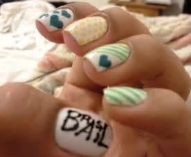 farry island cute nail art