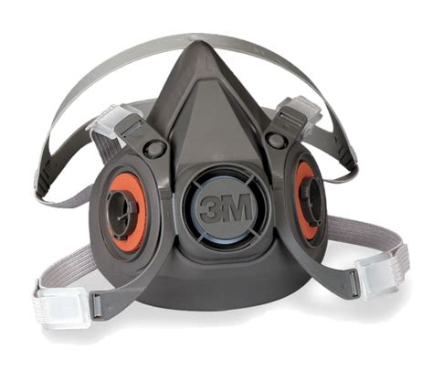 3m 6100 half facepiece lightweight respirator small