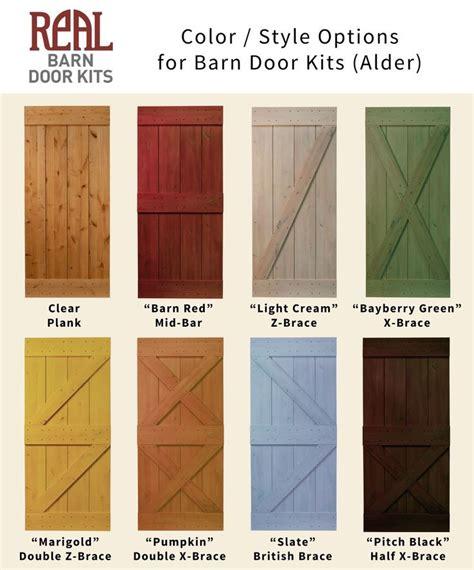 Real Barn Door Kits Rustic Alder Barn Door