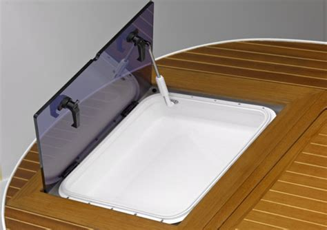 motor boat easy easy aluminium flush deck hatches for yachts and motor boats