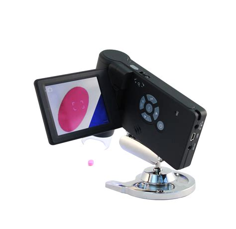 Home Design Software Punch Handheld Digital Microscope With Lcd Screen
