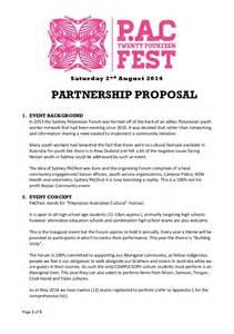 sydney pacfest 2014 partnership proposal