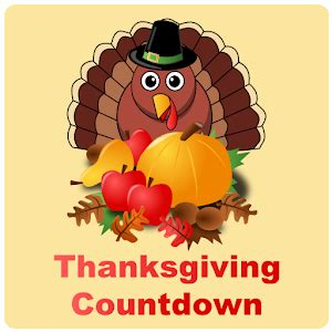 thanksgiving countdown widget android apps on google play