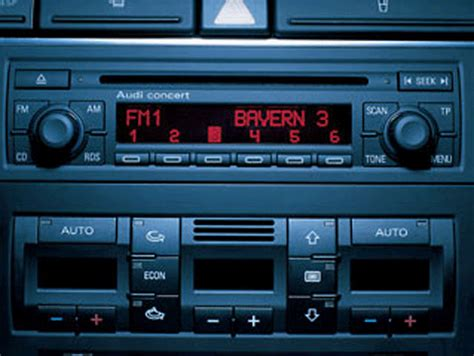 Audi Concert 1 by Radio Installation Guide For Audi A4 2002 2003 2004 2005