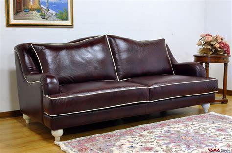divano classico in pelle divano classico artigianale realizzabile su misura
