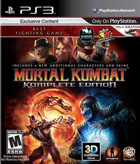 mortal kombat komplete edition playstation 3 ign