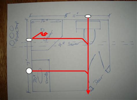 bathroom plumbing diagram concrete slab lighting riser diagram lighting free engine image for