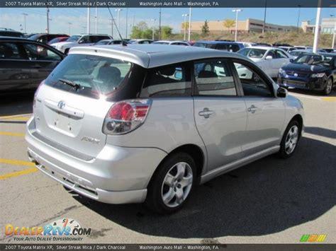 2007 Toyota Matrix Xr 2007 Toyota Matrix Xr Silver Streak Mica Charcoal