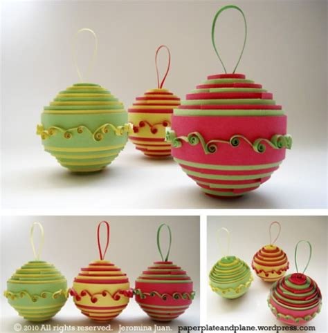 rolled paper ornaments shoplet