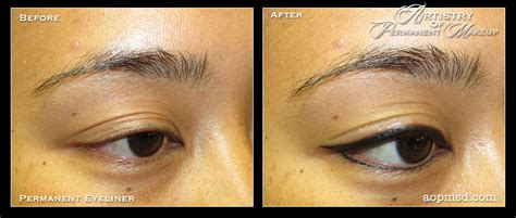 tattoo eyeliner before and after permanent makeup san diego artistry of permanent makeup