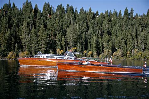 boat crash at lake thunderbird thunderbird lake tahoe photograph by steven lapkin