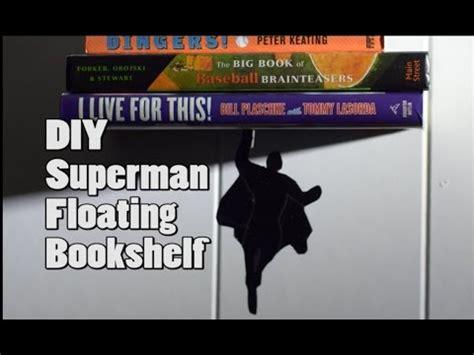 estante superman diy superman floating bookshelf estante flotante con