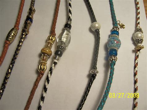 beaded show leads for dogs quot lucky show leads quot beautiful handcrafted braided