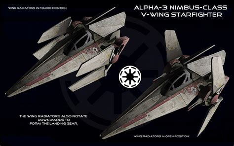 Lego Imperial Vwing Pilot Wars alpha 3 nimbus class v wing starfighter ortho 2 by