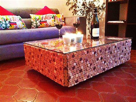 Table Basse Liege by Table Basse En Bouchons De Li 232 Ge Et Verre Meubles Et