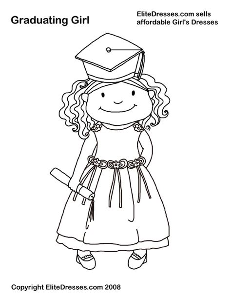 coloring pages for kindergarten graduation graduation coloring picture 171 free coloring pages