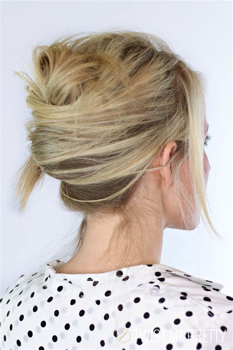 find a hairstyle using your own picture textured french twist day 7 twist me pretty