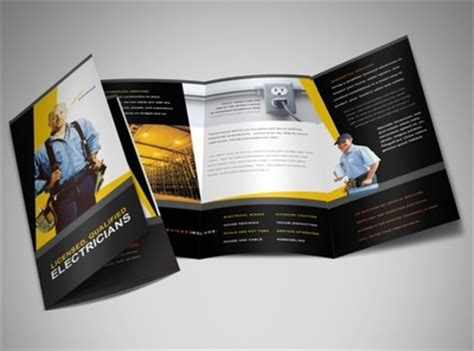 brochure templates electrical document moved