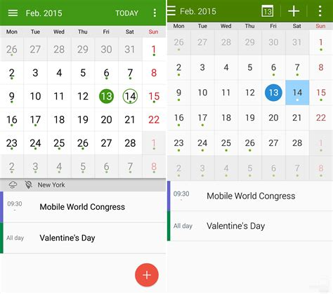s planner apk note 4 with lollipop vs note 4 with kitkat ui comparison