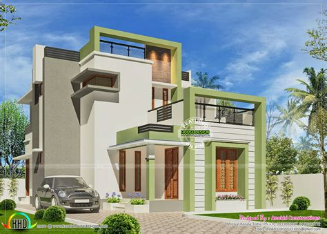 simple small budget contemporary home kerala home design