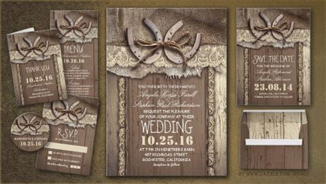 rustic wedding wedding and invitations