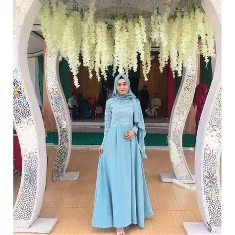 Fashion Wanita 97 sahira brukat dress dress cantik dress bagus fashion