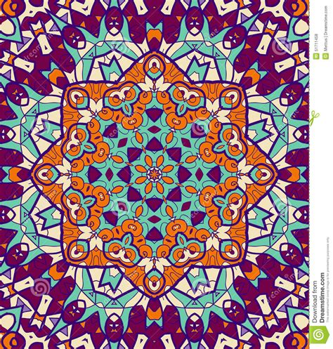mandala incons 250 til coloreada brillante violeta verde