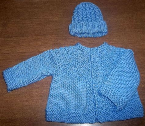 5 hour baby sweater knitting pattern free my knit baby set