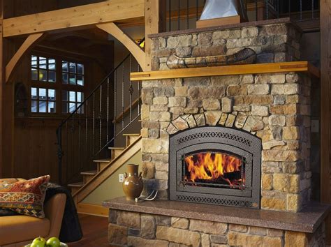 zero clearance wood burning fireplace place and pits