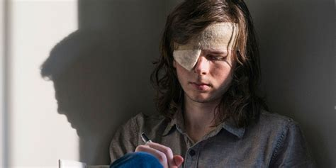 The Walking Dead Carl Grimes Poncho the walking dead chandler riggs mocks carl s