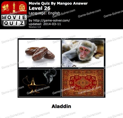 logo quiz mangoo answers level 26 movie quiz mangoo level 26 game solver