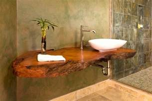 Wood Bathroom Countertop 20 Bathrooms With Wooden Countertops
