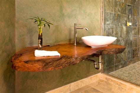 bathroom counter top ideas 20 bathrooms with wooden countertops