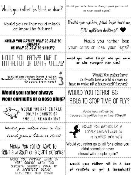 Or Boyfriend Questions Would You Rather I Loved Asking These Questions To My Boyfriend It Was So To Hear His Answers