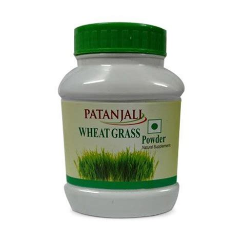 Wheatgrass Juice Powder For Mold Detox by Patanjali Wheatgrass Powder 100 Gm Patanjali Ayurved
