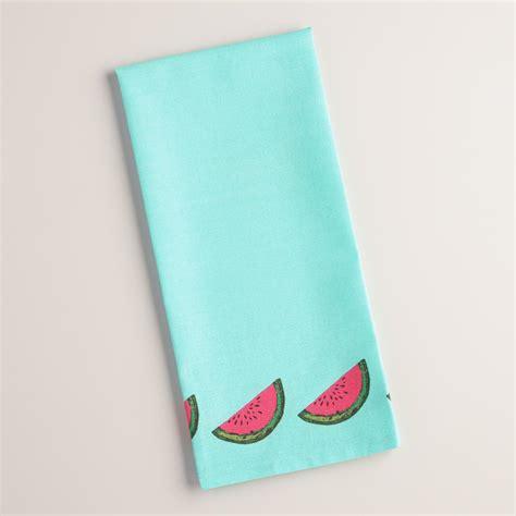 Flour Sack Kitchen Towels by Watermelon Flour Sack Kitchen Towel World Market