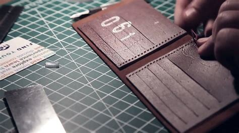 Trifold Wallet Vegtan Leather by How To Make A Leather Wallet 171 Fashion Design