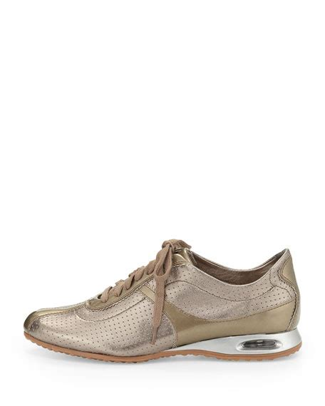 cole haan air bria sneaker cole haan air bria perforated oxford sneaker vintage silver