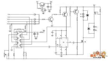 circuit of remote helicopter driver circuit