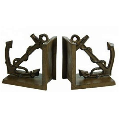 buy bookends buy antique brass anchor bookends 5 inch wholesale beach