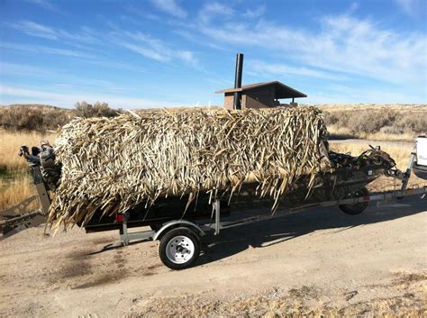 excel duck boat blind excel duck boat mudbuddy trailer sold the hull truth