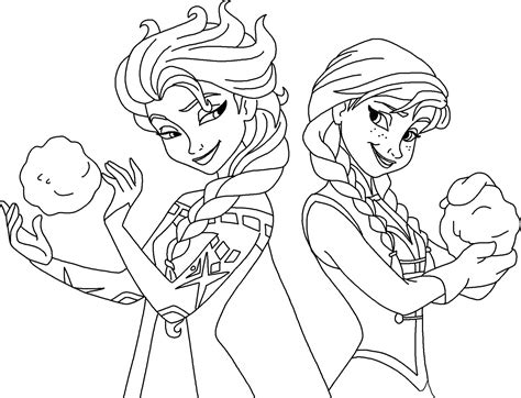 frozen coloring pages elsa online frozen elsa and anna coloring page free coloring pages