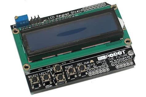 Lcd Arduino 2x16 arduino yhteensopiva lcd 2x16 shield kuudella n 196 pp 196 imell 196