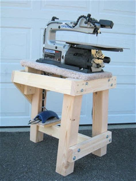 scroll saw bench plans scrollsaw workshop free scroll saw stand plans from