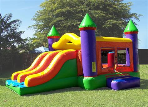 party houses for rent party rental miami combo units combo slide